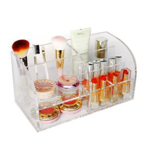 Clear Acrylic Makeup Storage